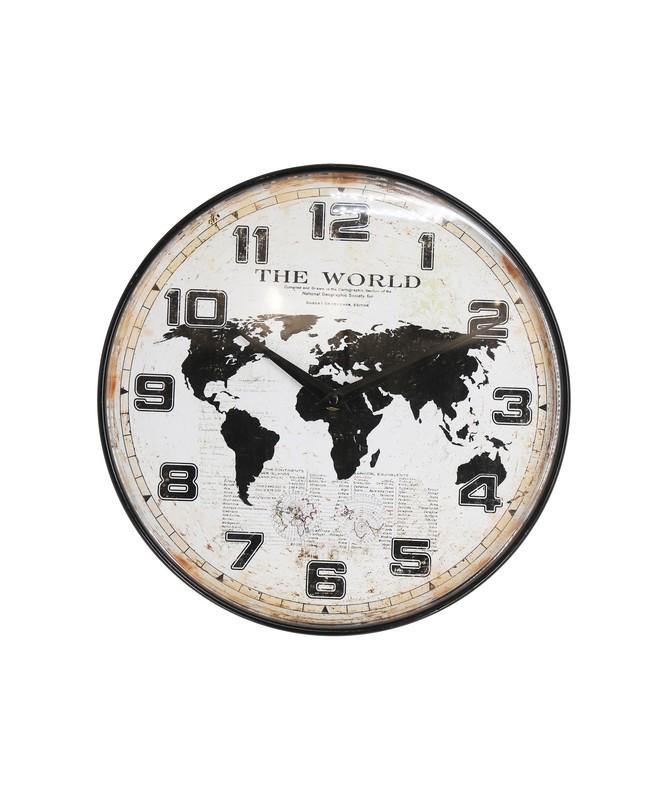 OROLOGIO VINTAGE WORLD IN METALLO