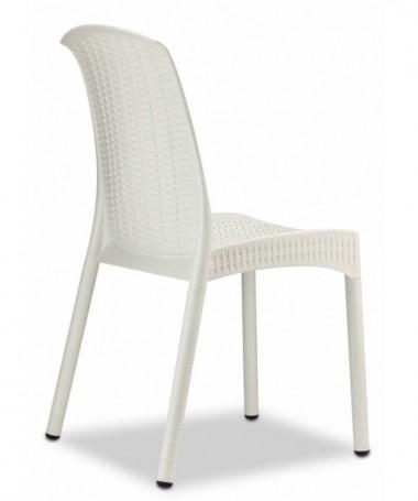 Sedia Olimpia Chair in tecnopolimero intrecciato Made in Italy - set da 6