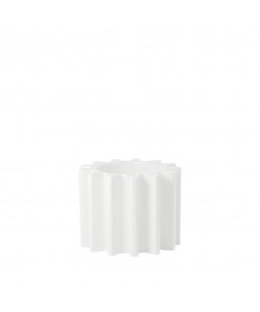 Candelabro in alluminio - bianco