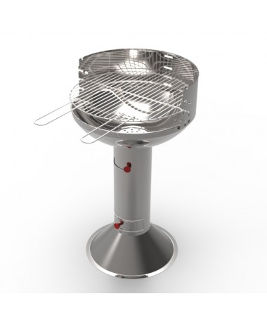 BARBECUE A CARBONELLA ROMA INOX MADE IN ITALY