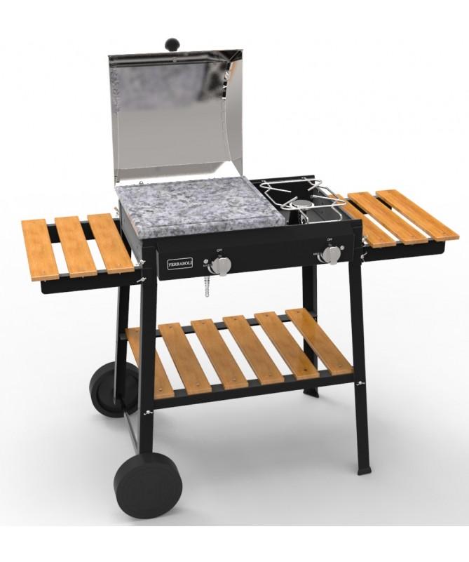 Barbecue Bio Cooking 2 fuochi