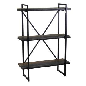 Scaffale metallo legno 3 piani
