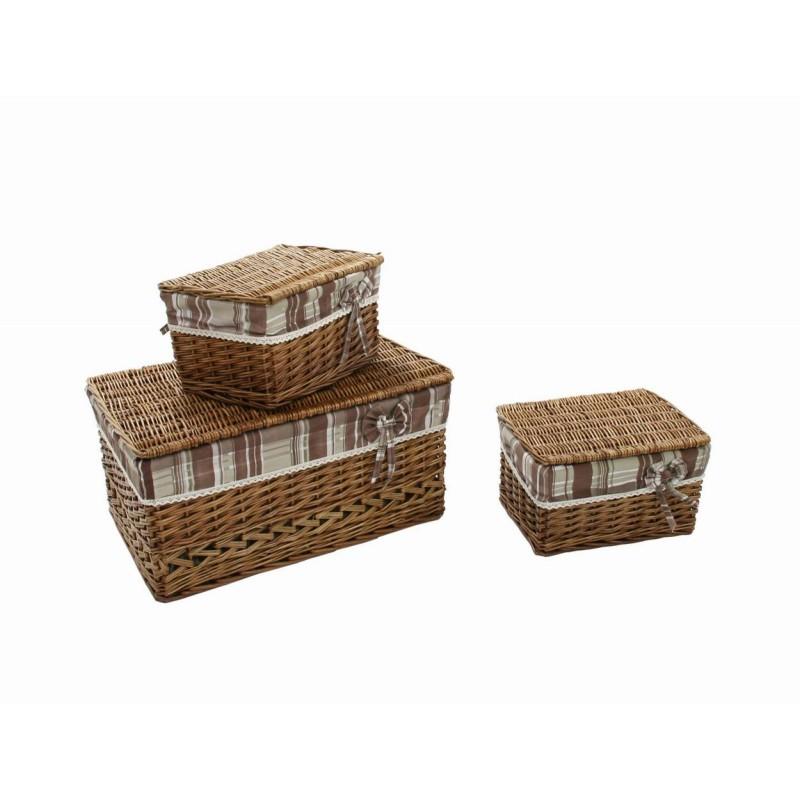 Scatola vimini intero c/2 scatole