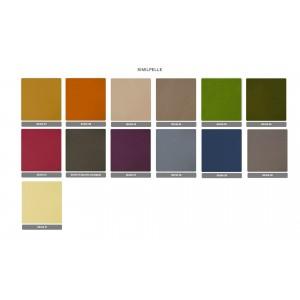 Libreria Tars colore cromo