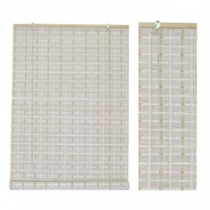 Tapparella bambu' bianco cm90x180