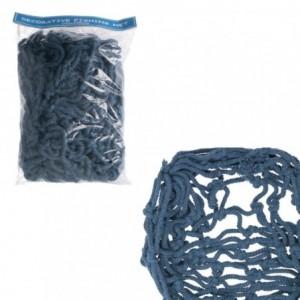 Rete corda mare sacchetto blu cm150x200