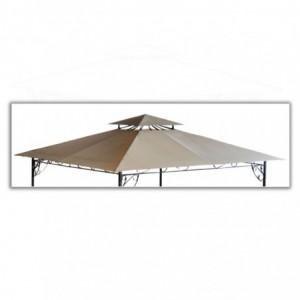 Gazebo ricambio tetto riccioli ferro 3x3 h2,8m 740275