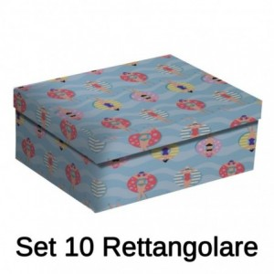 Scatola cartone 1-10 piscina rettangolare cm43x35h17