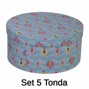 Scatola cartone 1-5 piscina tondo cmø40,5h17,8x33