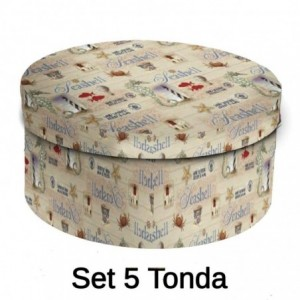 Scatola cartone 1-5 salvagente tondo cmø40,5h17,8x33