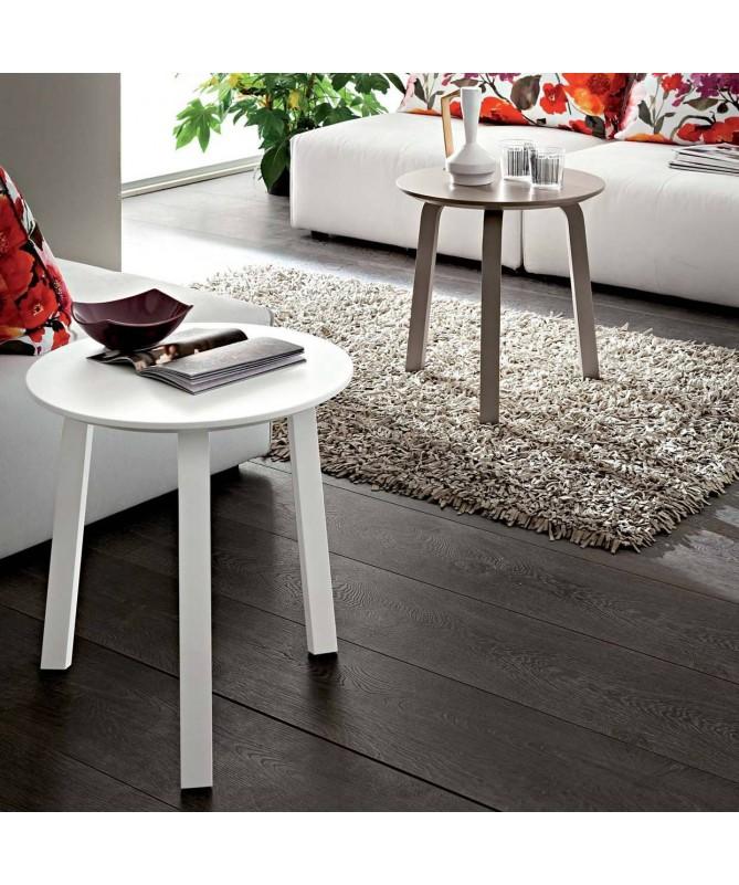 Tavolino Gioia alto Made in Italy - disponibile in diversi colori