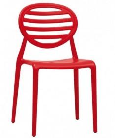 Sedia in tecnopolimero rinforzato Top Gio Made in Italy - set da 6