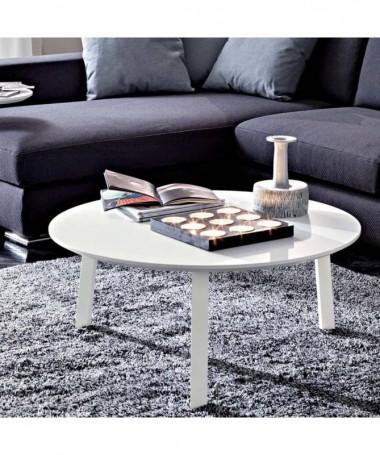 Tavolino Gioia tondo Made in Italy - disponibile in diversi colori e misure
