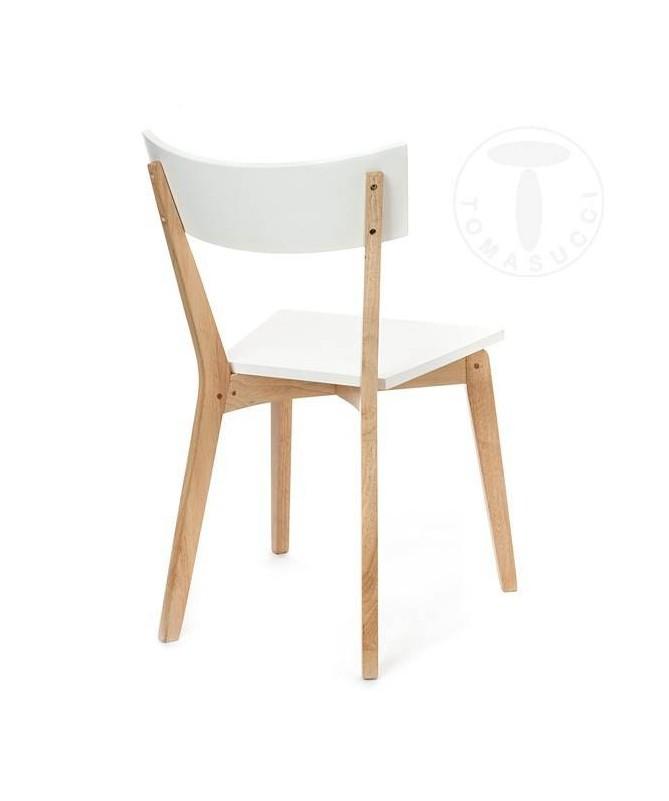 Sedia in legno massello Kyra - set da 2