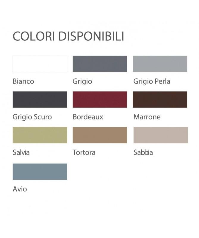 Sedia Bakhita in polipropilene Made in Italy - set da 4