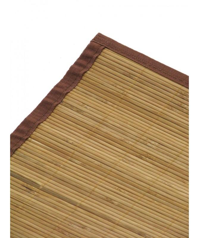 Tappeti in bamboo con listelle sottili - set da 2