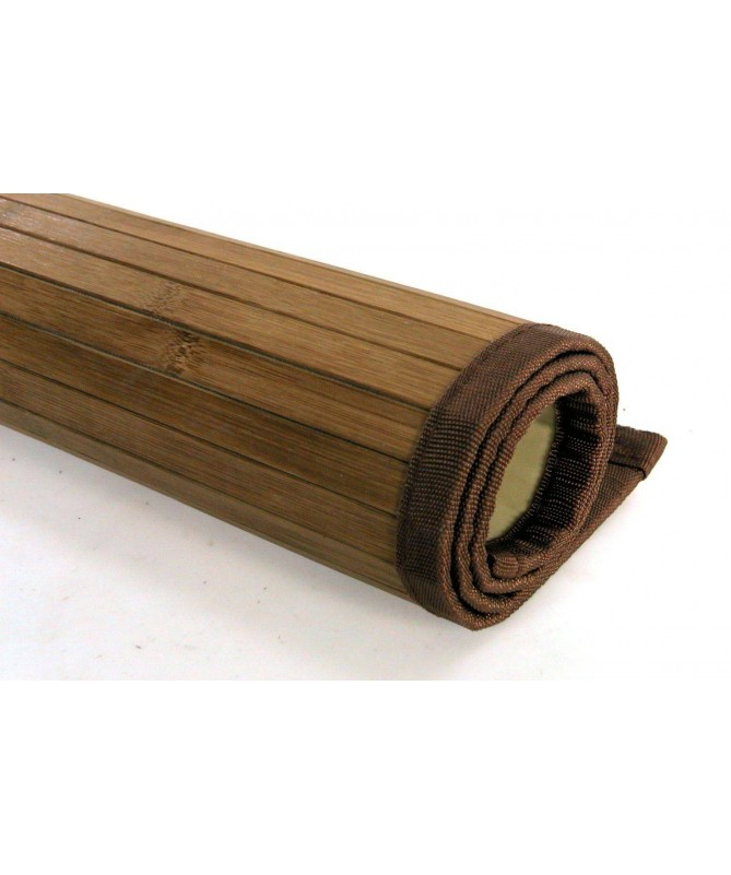 Tappeti in bamboo listelle grandi - set da 2