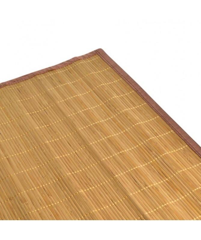Tappeti in bamboo listelle piccole - set da 4