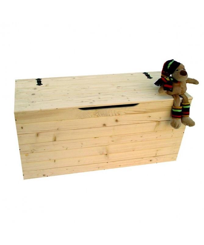 Cassapanca Forziere 100 in legno massello Made in Italy