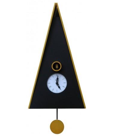 Orologio con cucù con cassa betulla e tetto Made in Italy