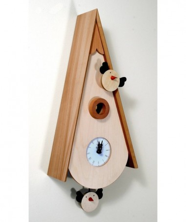 Latest canut wait clock nero orologio moderno analogico - Orologi da tavolo moderni ...