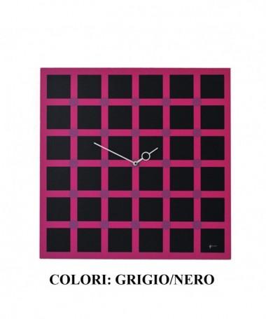 Orologio da parete Optical n2 con stampa su mdf Made in Italy