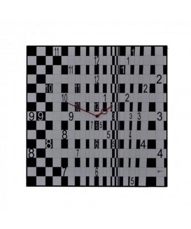Orologio da parete Optical n3 con stampa su mdf Made in Italy