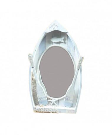 Specchio Mare con barca e remi
