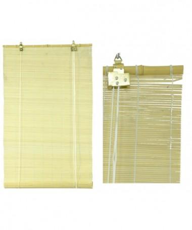 Tapparella midollino naturale asta bambu' cm120xh300x12