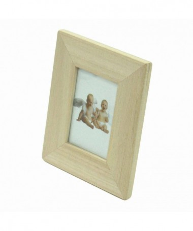 Portafoto da tavolo rettangolare in balsa - 96 pezzi