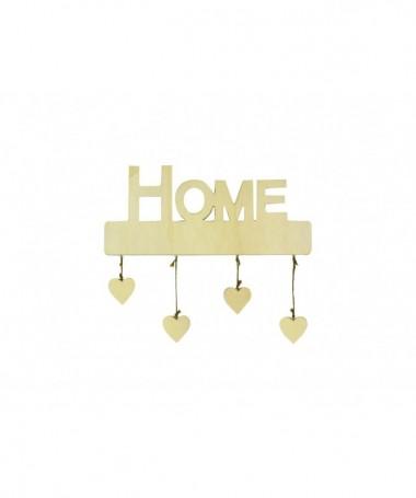 Decorazioni Home con cuori pendenti - 48 pezzi