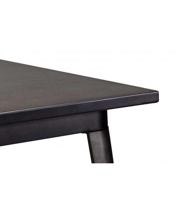 Tavolo in ferro Bristol - marrone