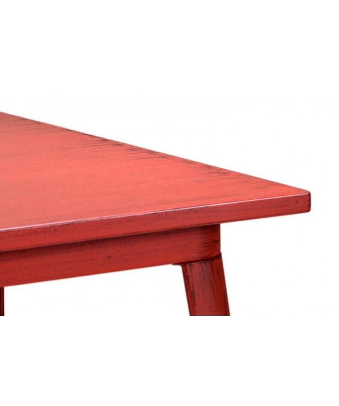 Tavolo in ferro Bristol - rosso
