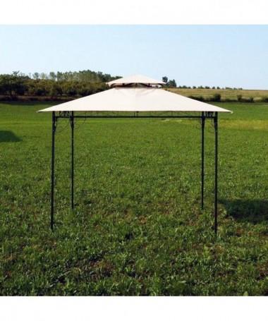 Gazebo Riccioli in metallo - 300 x 300 cm