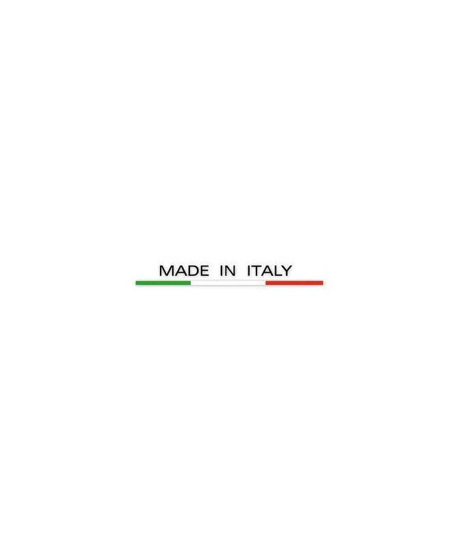 Sdraio pieghevole Salina 45 in polipropilene Made in Italy - set da 2 bianco