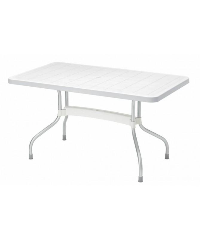 Tavolo Ribalto Top ribaltabile 140 x 80 in polipropilene e alluminio