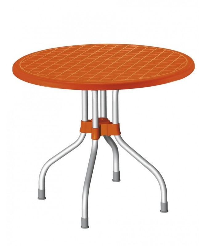 Tavolo Ribalto Top ribaltabile 95 cm in polipropilene e alluminio