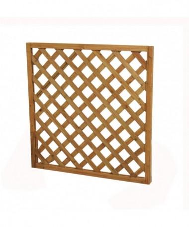 Graticcio in legno quadrato - 4 pezzi