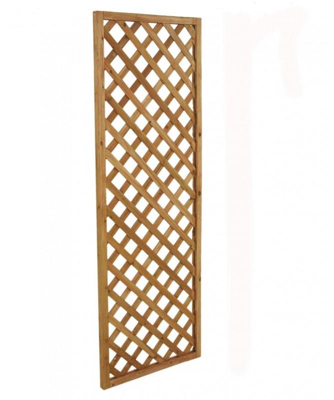 Graticcio stretto in legno rettangolare - 4 pezzi