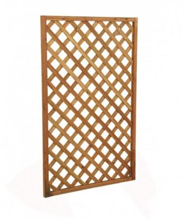 Graticcio in legno rettangolare medio - 4 pezzi