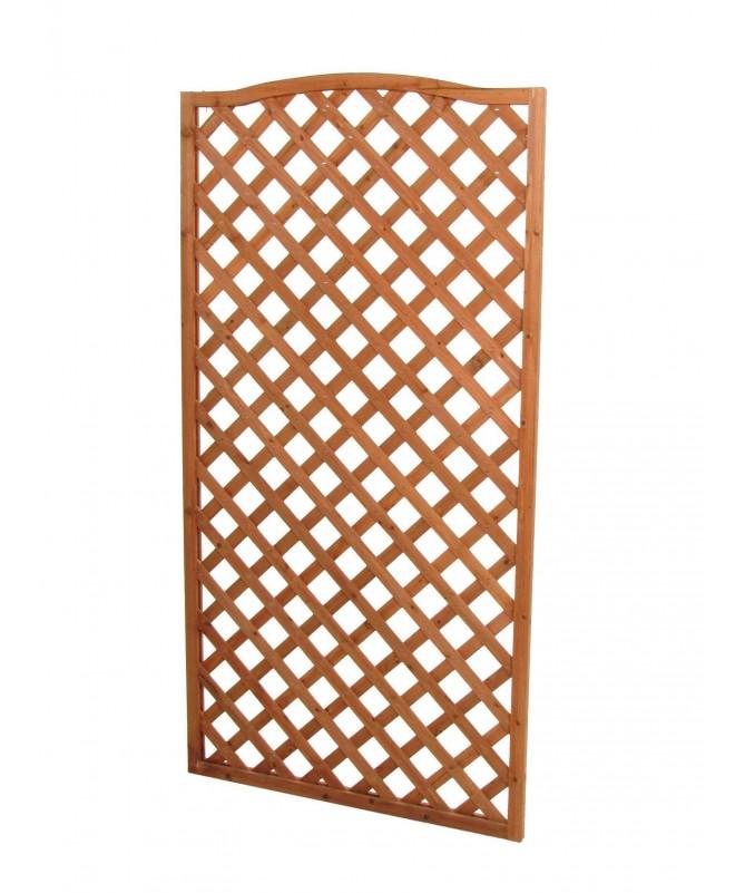 Graticcio in legno rettangolare sagomato - 4 pezzi