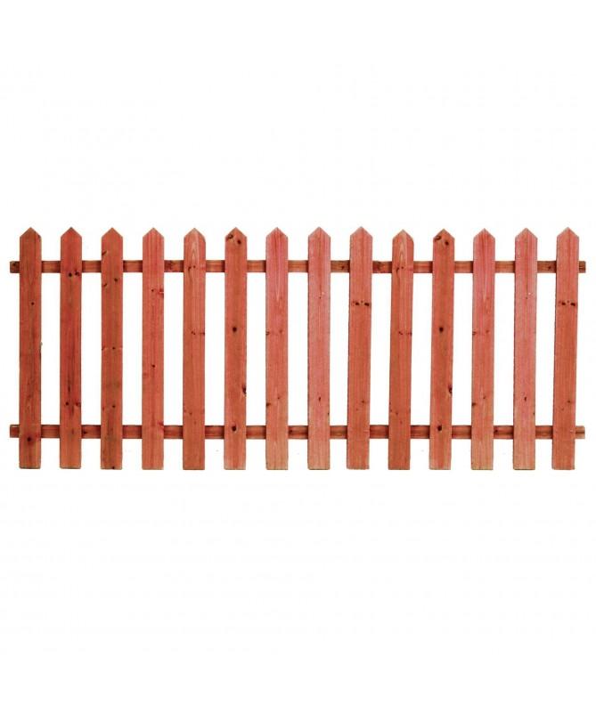 Graticcio a steccato in legno - 4 pezzi