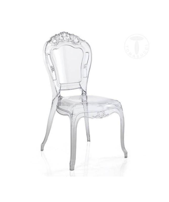 Sedia in policarbonato Monaco - set da 2