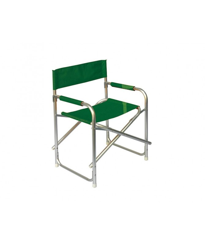 Sedia regista pieghevole in alluminio - set da 6 verde