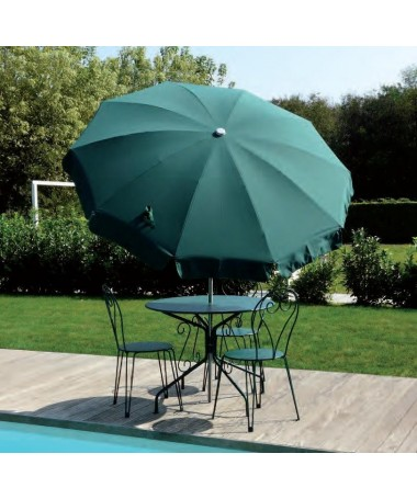 Ombrellone palo centrale Inox Made in Italy - diametro 200 cm