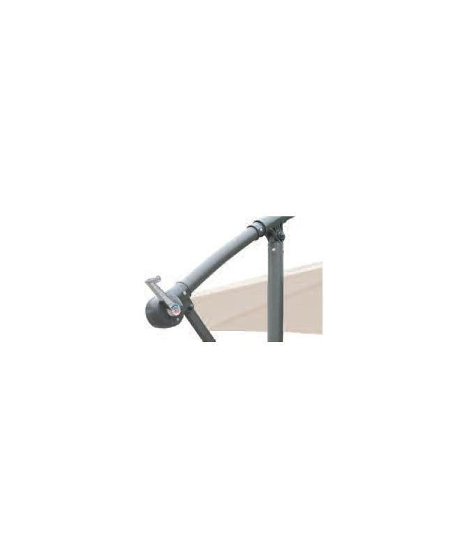 Ombrellone palo laterale Cathay - diametro 300 cm