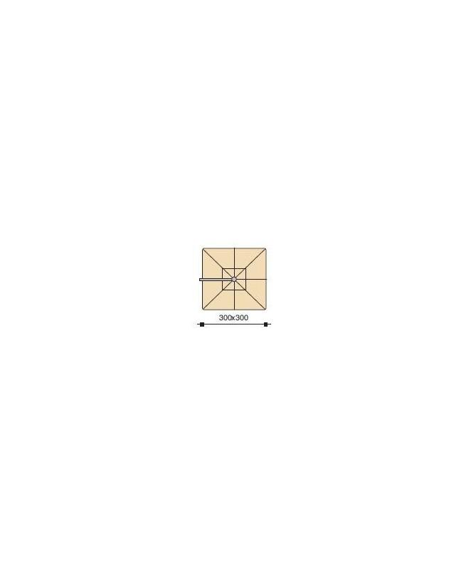 Made in Italy. CM Maffei Vela Triangolare Polyma Art 1505 Manta 500X500x500
