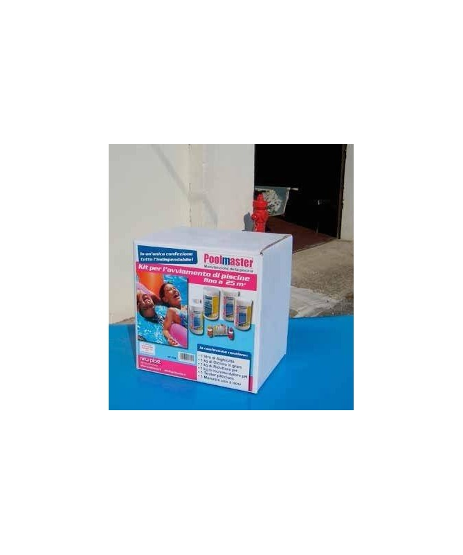 Start kit plusavviamento piscine fino 25 mc