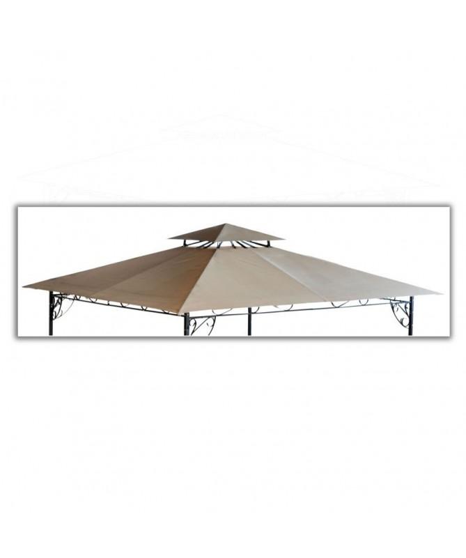 Ricambio tetto per gazebo Riccioli - 2 x 3