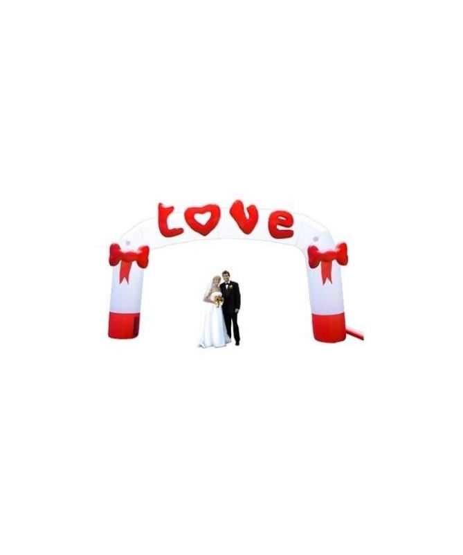 ARCO GONFIABILE 'LOVE' HAPPY HAIR
